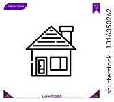 house icon vector . best modern ...