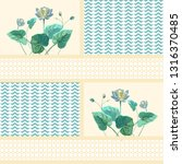 trendy background with... | Shutterstock .eps vector #1316370485