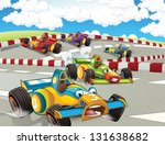 the formula race   super car  ... | Shutterstock . vector #131638682