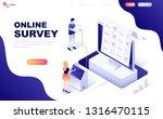 modern flat design isometric... | Shutterstock .eps vector #1316470115