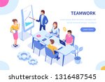 people team concept. can use... | Shutterstock .eps vector #1316487545