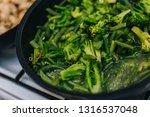 cooking stewed vegetables ... | Shutterstock . vector #1316537048
