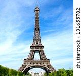 the eiffel tower | Shutterstock . vector #131655782