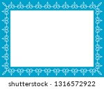 blue photo picture art frame... | Shutterstock .eps vector #1316572922