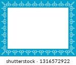 blue photo picture art frame... | Shutterstock .eps vector #1316572922