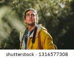 close up of a man wearing... | Shutterstock . vector #1316577308