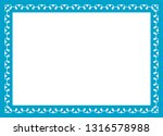 blue photo picture art border... | Shutterstock .eps vector #1316578988