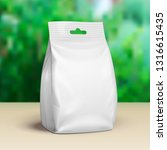 blank stand up pouch snack... | Shutterstock .eps vector #1316615435