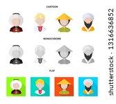vector design of imitator and... | Shutterstock .eps vector #1316636852