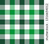 st. patricks day tartan plaid.... | Shutterstock .eps vector #1316654012