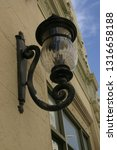 this outdoor light fixture is a ... | Shutterstock . vector #1316658188