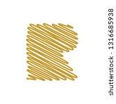 modern trendy r letter unique... | Shutterstock .eps vector #1316685938