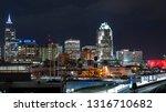 skyline of downtown raleigh  nc | Shutterstock . vector #1316710682