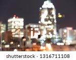 blurry  defocused view of... | Shutterstock . vector #1316711108