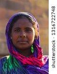 bihar india   february 14  ...   Shutterstock . vector #1316722748