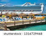 cozumel  mexico  march 1  2016  ... | Shutterstock . vector #1316729468