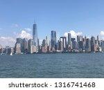 panoramic view of new york city ... | Shutterstock . vector #1316741468