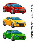 automobile | Shutterstock .eps vector #131675576