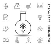 flower in the flask icon....