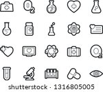 bold stroke vector icon set  ... | Shutterstock .eps vector #1316805005