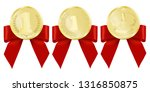 luxury gold badges and sports... | Shutterstock .eps vector #1316850875