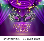 beautiful background with mardy ... | Shutterstock .eps vector #1316851505