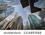 low angle view of skyscrapers ... | Shutterstock . vector #1316892068