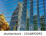 low angle view of skyscrapers ... | Shutterstock . vector #1316892092