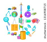 engineering system icons set.... | Shutterstock .eps vector #1316908715