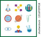 9 discovery icon. vector...   Shutterstock .eps vector #1316939918