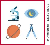 4 discovery icon. vector...   Shutterstock .eps vector #1316948738