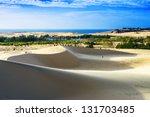 White Sand Dune  Mui Ne  Vietnam
