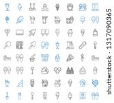 scoop icons set. collection of... | Shutterstock .eps vector #1317090365