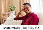 portrait of a smiling young... | Shutterstock . vector #1317109415