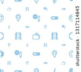 3d icons pattern seamless white ... | Shutterstock .eps vector #1317114845