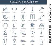 handle icons. trendy 25 handle... | Shutterstock .eps vector #1317117998