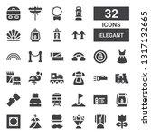 Elegant Icon Set. Collection Of ...