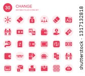change icon set. collection of... | Shutterstock .eps vector #1317132818