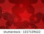 beautiful red abstract... | Shutterstock . vector #1317139622