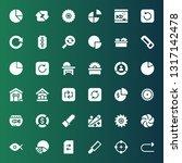 circular icon set. collection...
