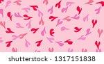 background color heart | Shutterstock . vector #1317151838