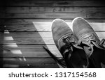 sport shoes  moccasin  from... | Shutterstock . vector #1317154568