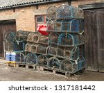 Lobster Net Traps Stacked Up
