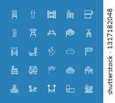editable 25 rest icons for web... | Shutterstock .eps vector #1317182048