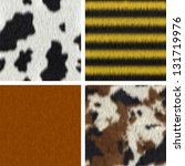 Seamless Fur Textures   Cow ...