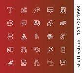 editable 25 dialog icons for...
