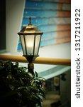 streetlamp in the city of... | Shutterstock . vector #1317211922
