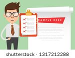 character and businessman... | Shutterstock .eps vector #1317212288