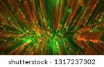 vector abstract 3d crystal. a... | Shutterstock .eps vector #1317237302