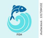 fish concept line icon. simple...